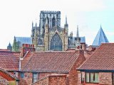 The Minster from the City Walls, York