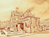 The Railway Inn using tricolor filter