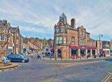The corner of Bank Road, Matlock