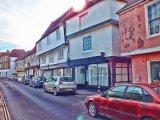 View along Strand Street, Sandwich, Kent