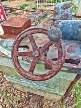 Winch winding wheel, Deal, Kent