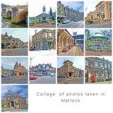 Collage of photos taken in Matlock
