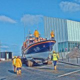 safely back from the sea, margate lifeboat