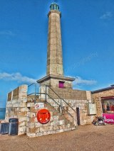 the light tower, harbour arm, margate