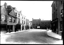 Old image - Market Place (provided by Gloucester Records Office)