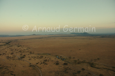 Serengeti Plains from the Air