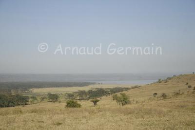 Lake Nakuru from Nderit Hill.