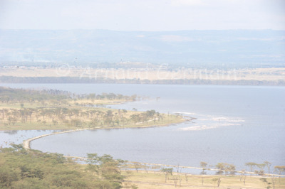 Lake Nakuru in the Dry Season.