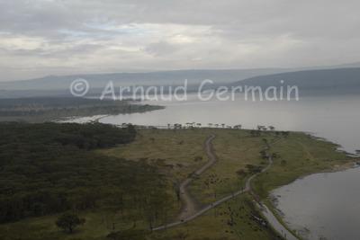 Lake Nakuru in the Wet Season.