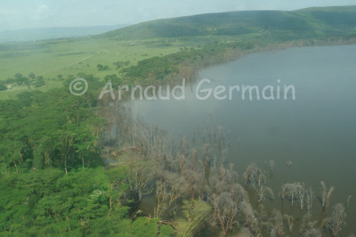 North of Lake Nakuru National Park.