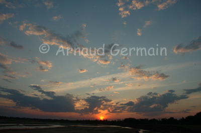 Sunset in the Luangwa Valley