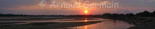 South Luangwa at sunset