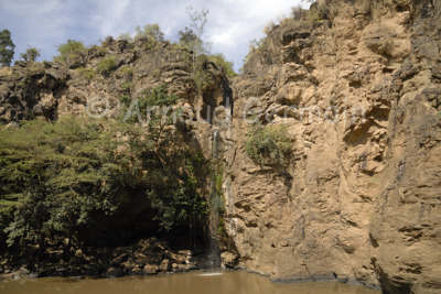 Makalia Falls in the Dry Season