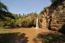 Shadows on Makalia Falls Pool