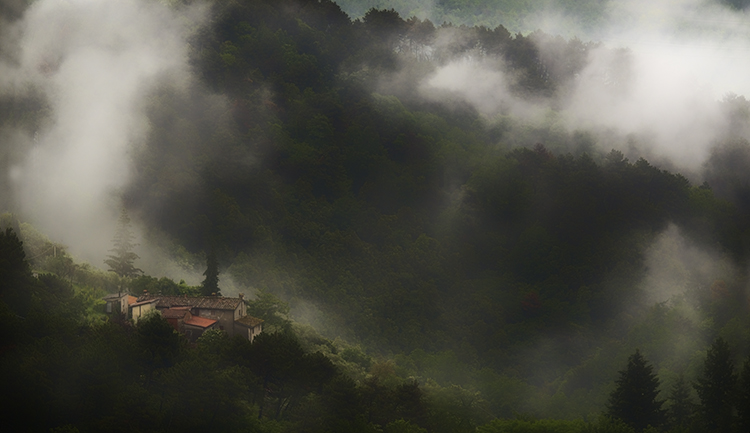 003 Fbbiano Landscape - Rain Clouds