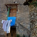 010 Fbbiano Village Scenes - A cat's favourite spot.