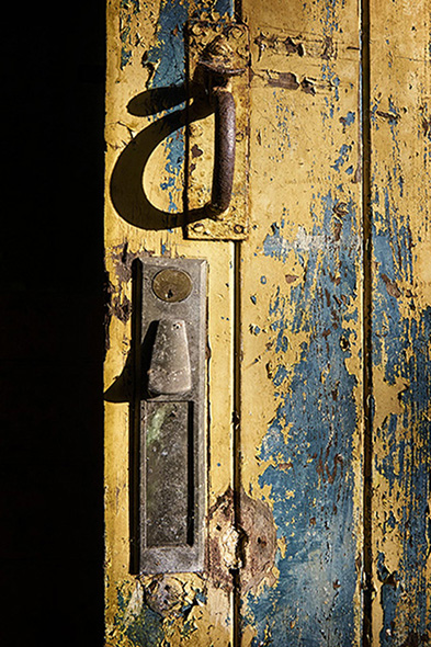 Detail of Outside Door
