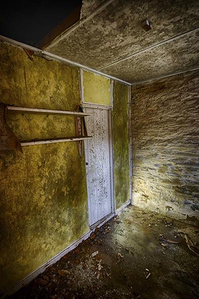 Room with Door Leading Off