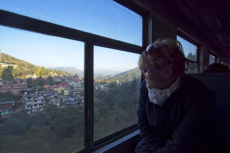 'Toy Train' Shimla and street scenes