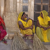 cleaning ladies amber fort