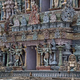 Detail of Hindu temple Madurai