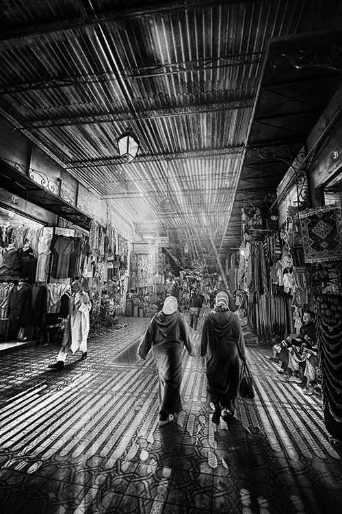 Shopping in the Souk