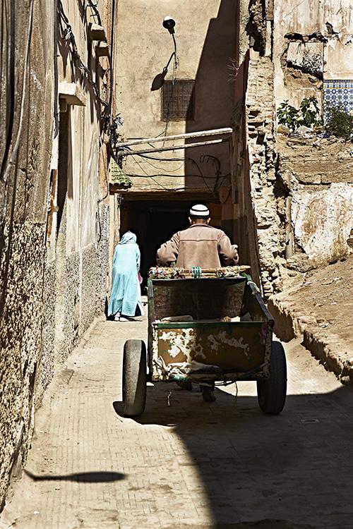 Man Powered Cart
