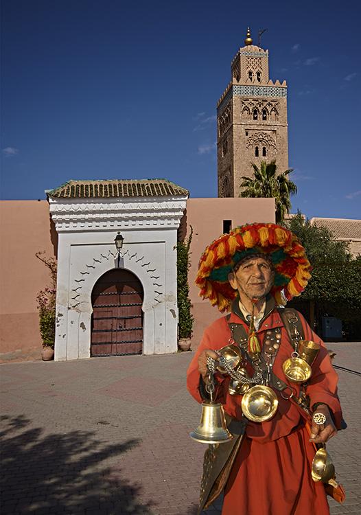 Berbar in Traditional Costume