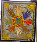 LORAG  Children's mosaic 2 x 2ft 2014