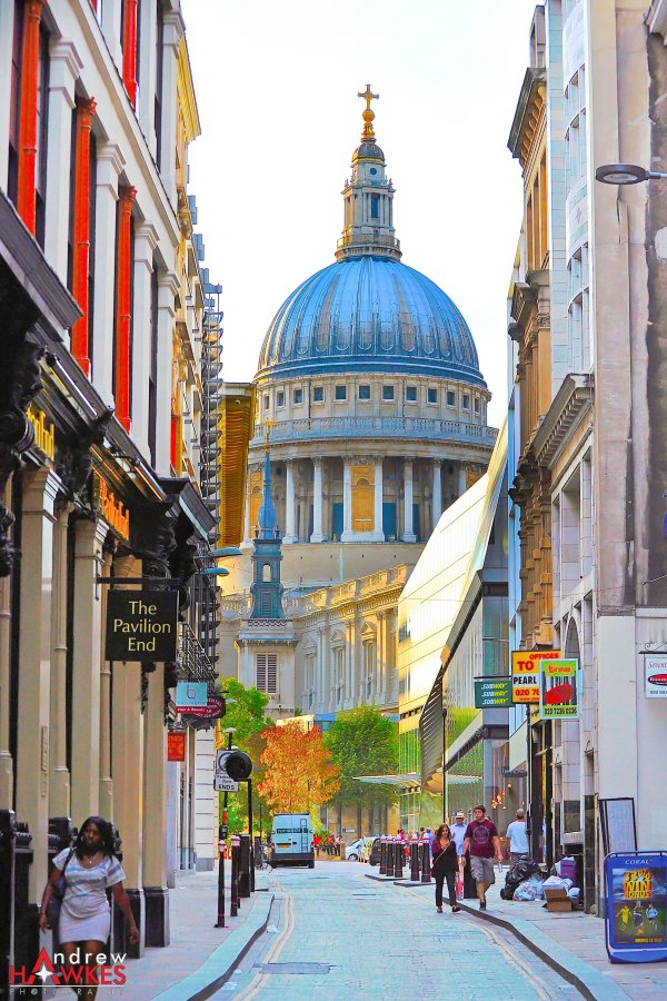 Side View Of St. Pauls