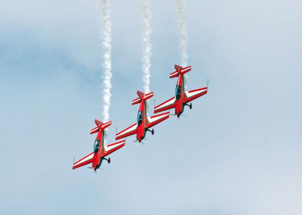 Jordanian aerobatic team