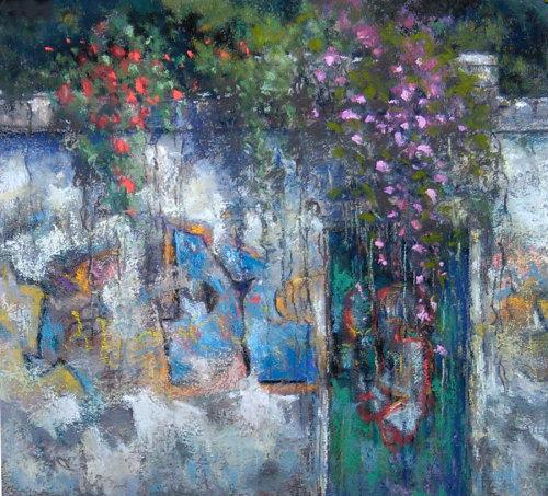 """""""Alfama Wall, Lisbon"""" - 2016"""