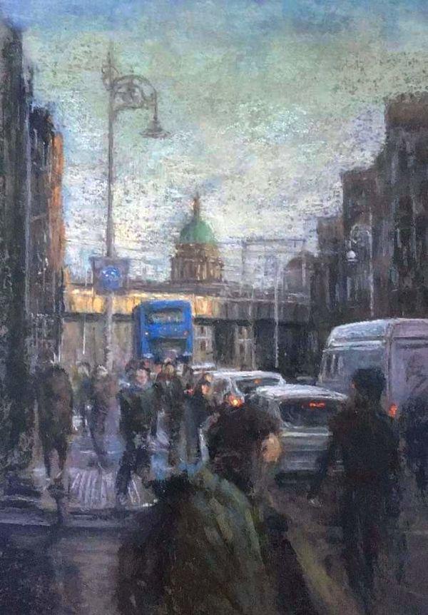 Evening, Gardiner St. Dublin