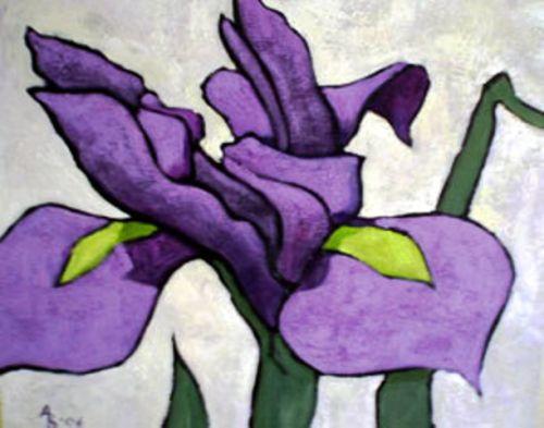 Iris Motif 2
