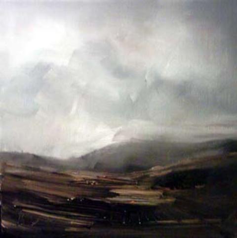 """Mountain Mist"" - 2006 - 20x20cm"