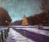 Christmas Eve, Phoenix Park, Pastel