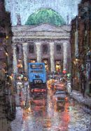 """Rainy Evening Parliament Street"""