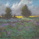 """The Yellow Field"" - Pastel 12x12"