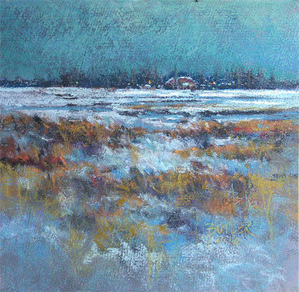 """Quiet Winter Evening"" - 2016"