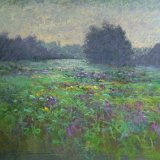 """Late Spring Morning"" - Pastel - 12x12 inches"