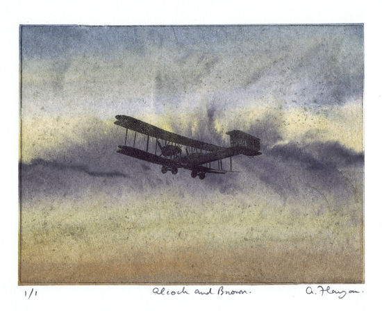 Alcock and Brown, Vickers Vimy