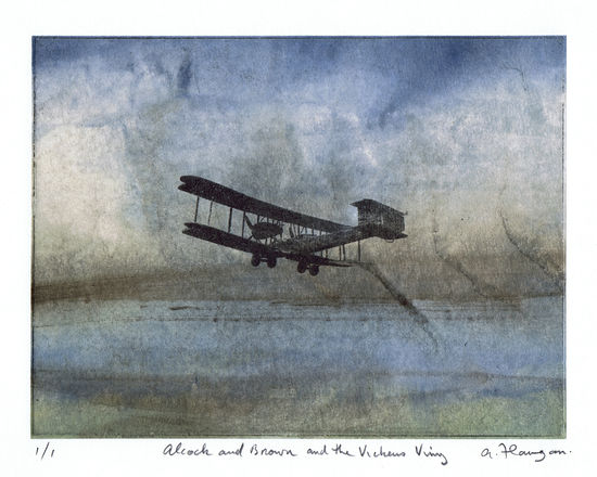 Alcock and Brown, and the Vickers Vimy