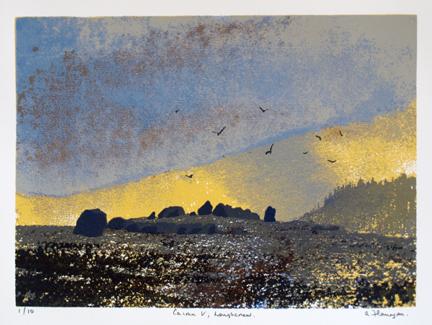 Cairn V, Loughcrew.