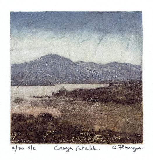 Croagh Patrick print