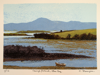 Croagh Patrick, Clew Bay