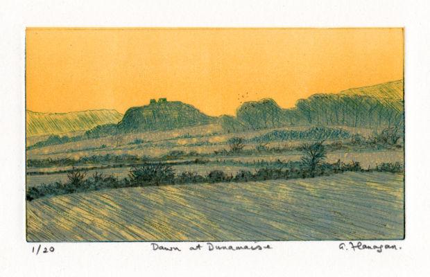 Dawn at Dunamaise