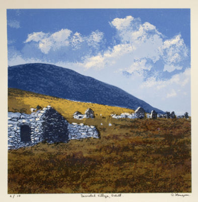 Deserted Village, Achill.
