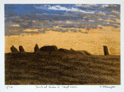 Dusk at Cairn V Loughcrew