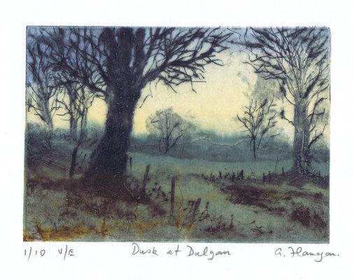 Dusk at Dalgan