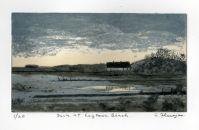 Dusk at Laytown Beach